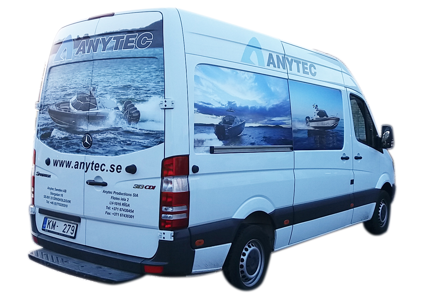 Anytec bus